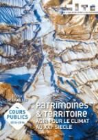 """Cours publics de Chaillot : """"Patrimoines et territoire - Agir pour le climat"""""""