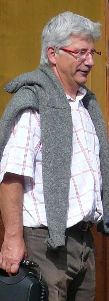 Albert Charles, délégué du Cantal