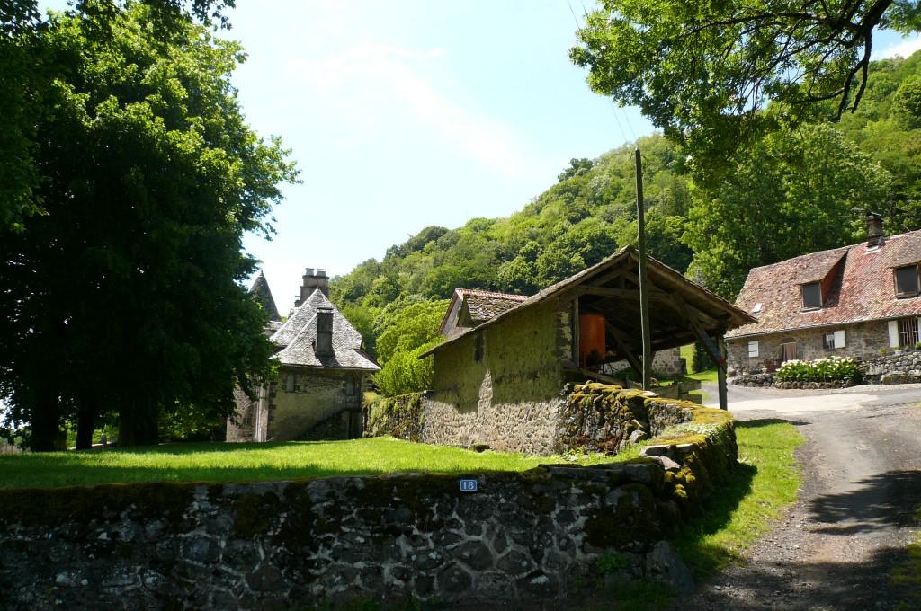 La Laubie, ferme du château.