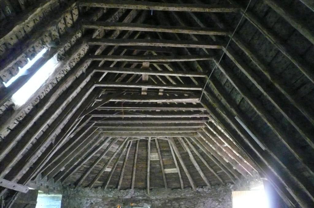 Le Martinet, grange à abside